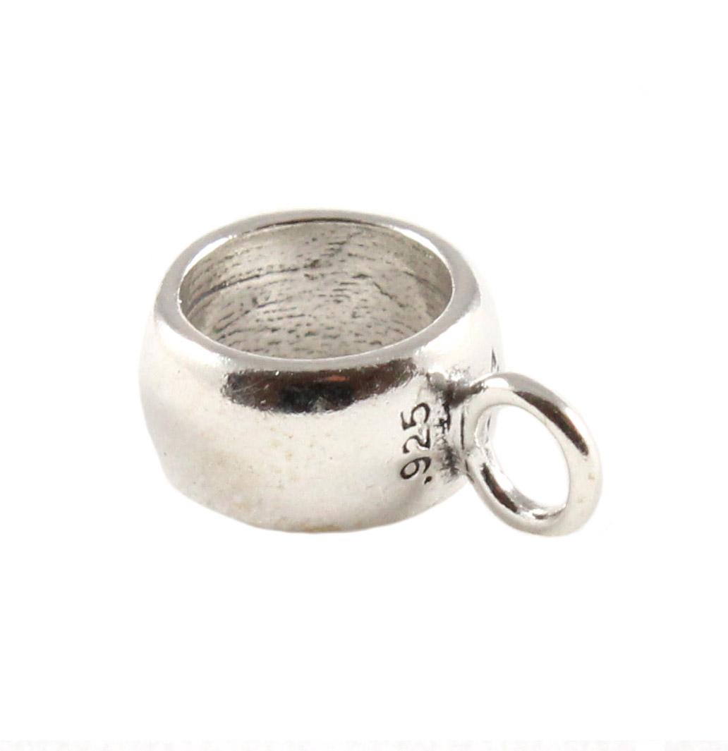charm school uk gt sterling silver findings gt bevelled