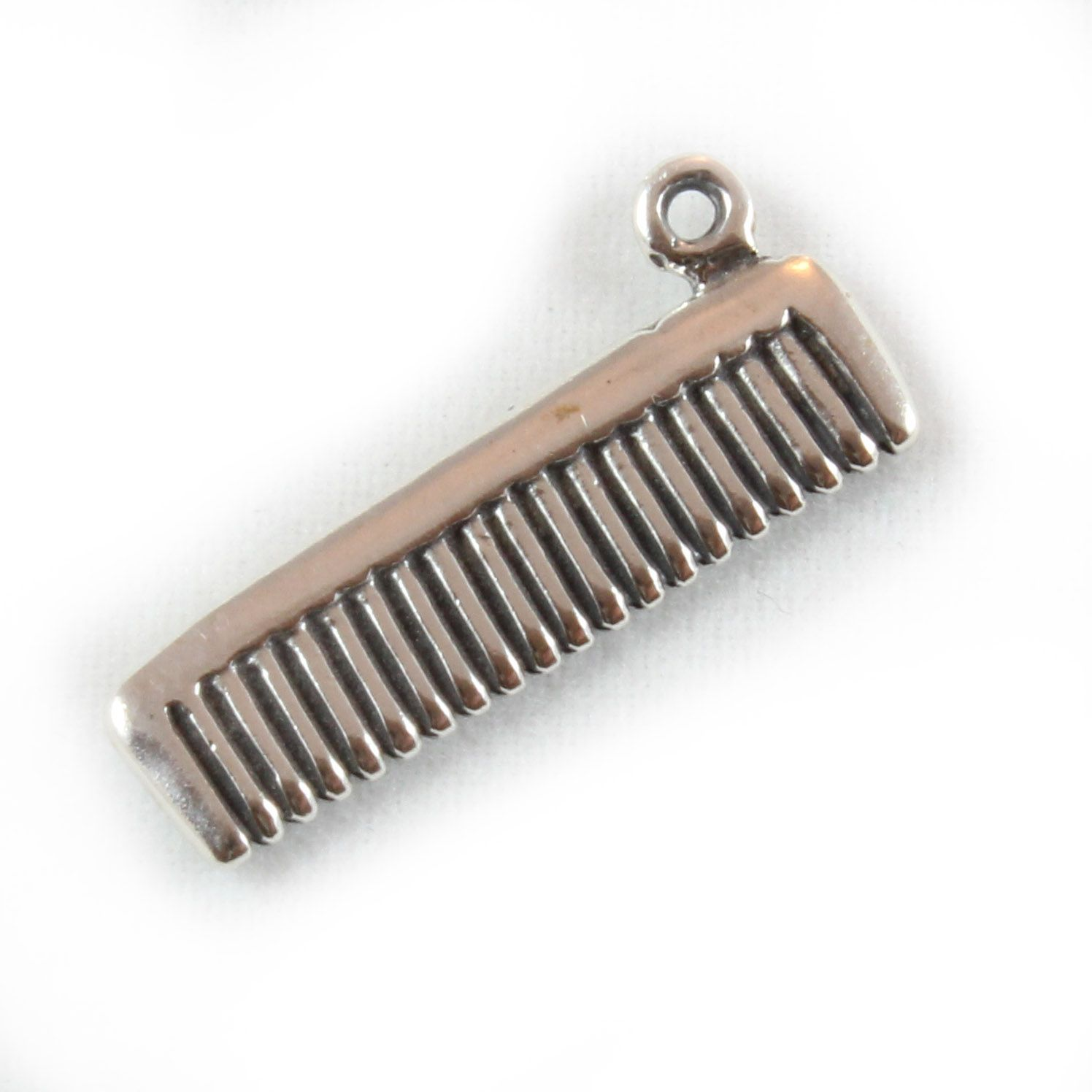 Charm School UK > Sterling Silver Charms > Miscellaneous > Hairdressers Comb