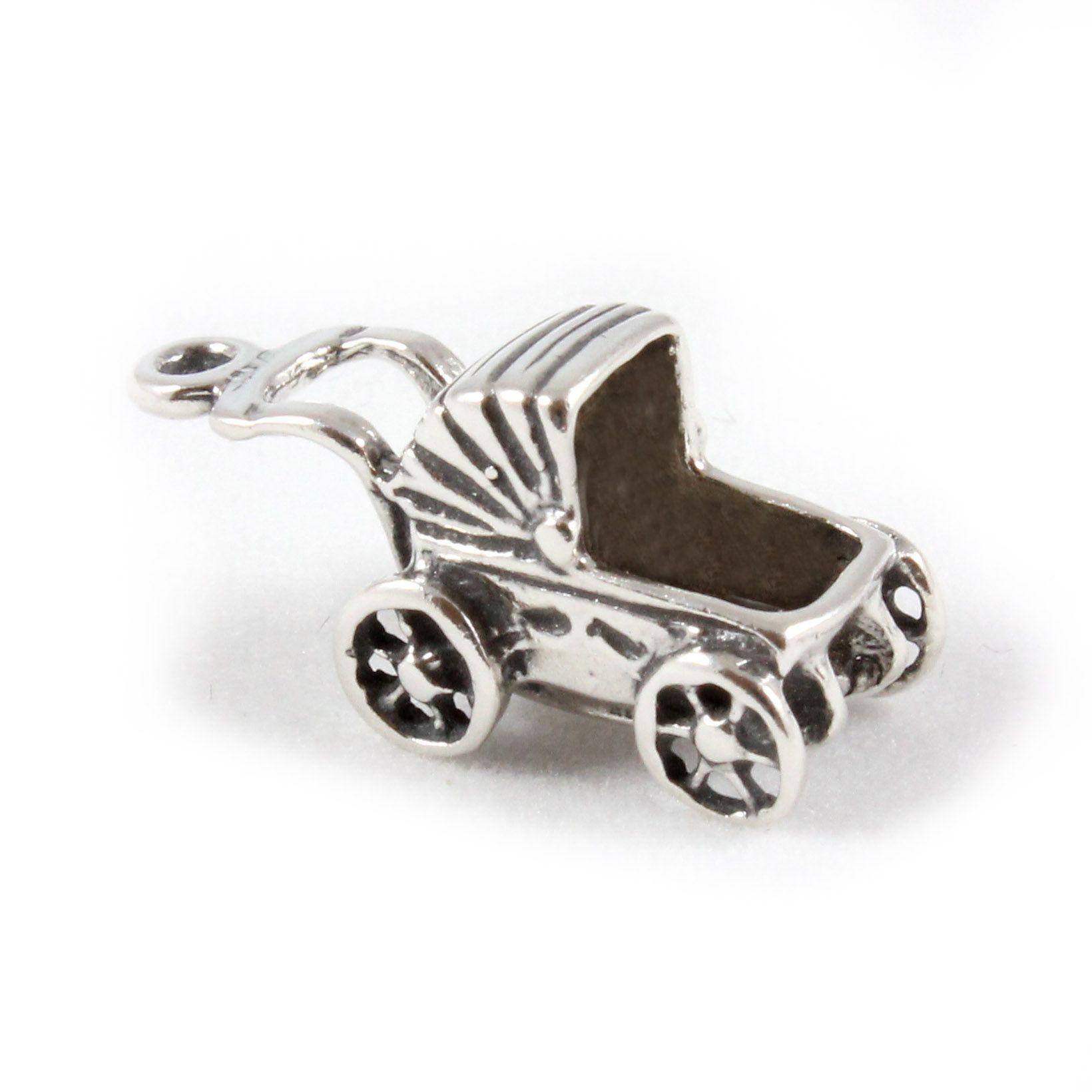 charm school uk gt sterling silver charms gt babies gt pram
