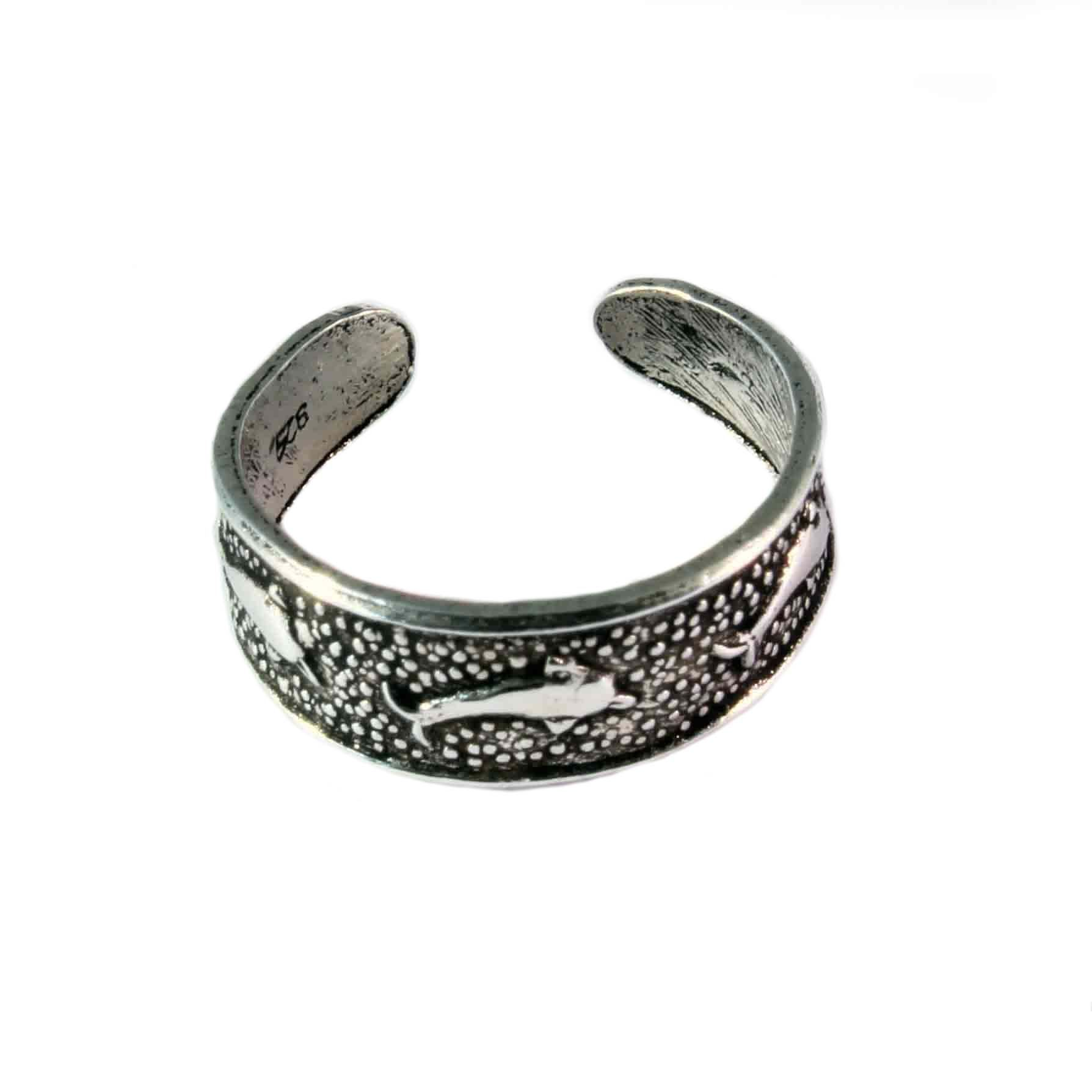 charm school uk gt sterling silver toe rings gt dolphins
