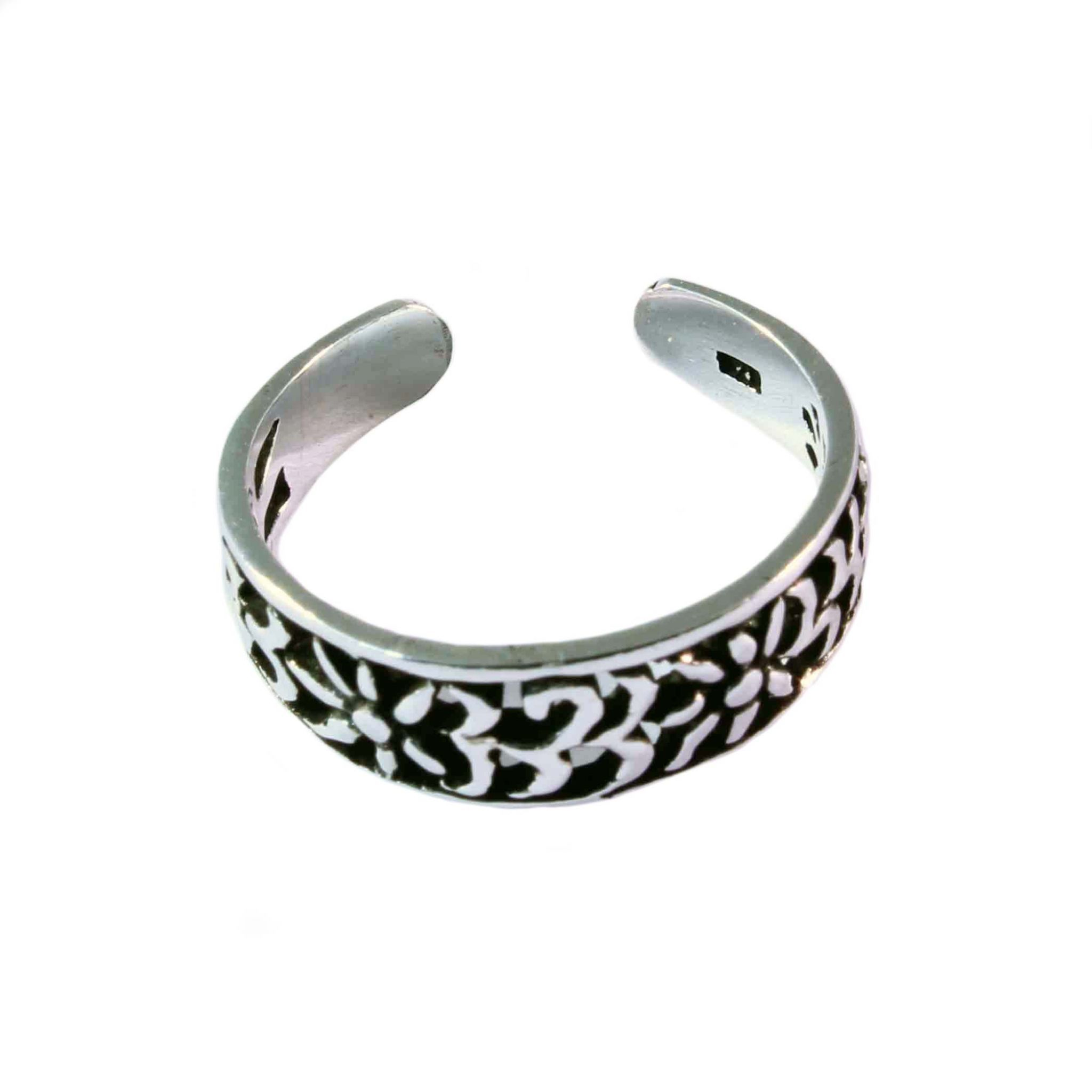 charm school uk gt sterling silver toe rings gt filigree