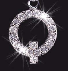 Charm School UK > Swarovski Mobile Phone Charm - Letter Q