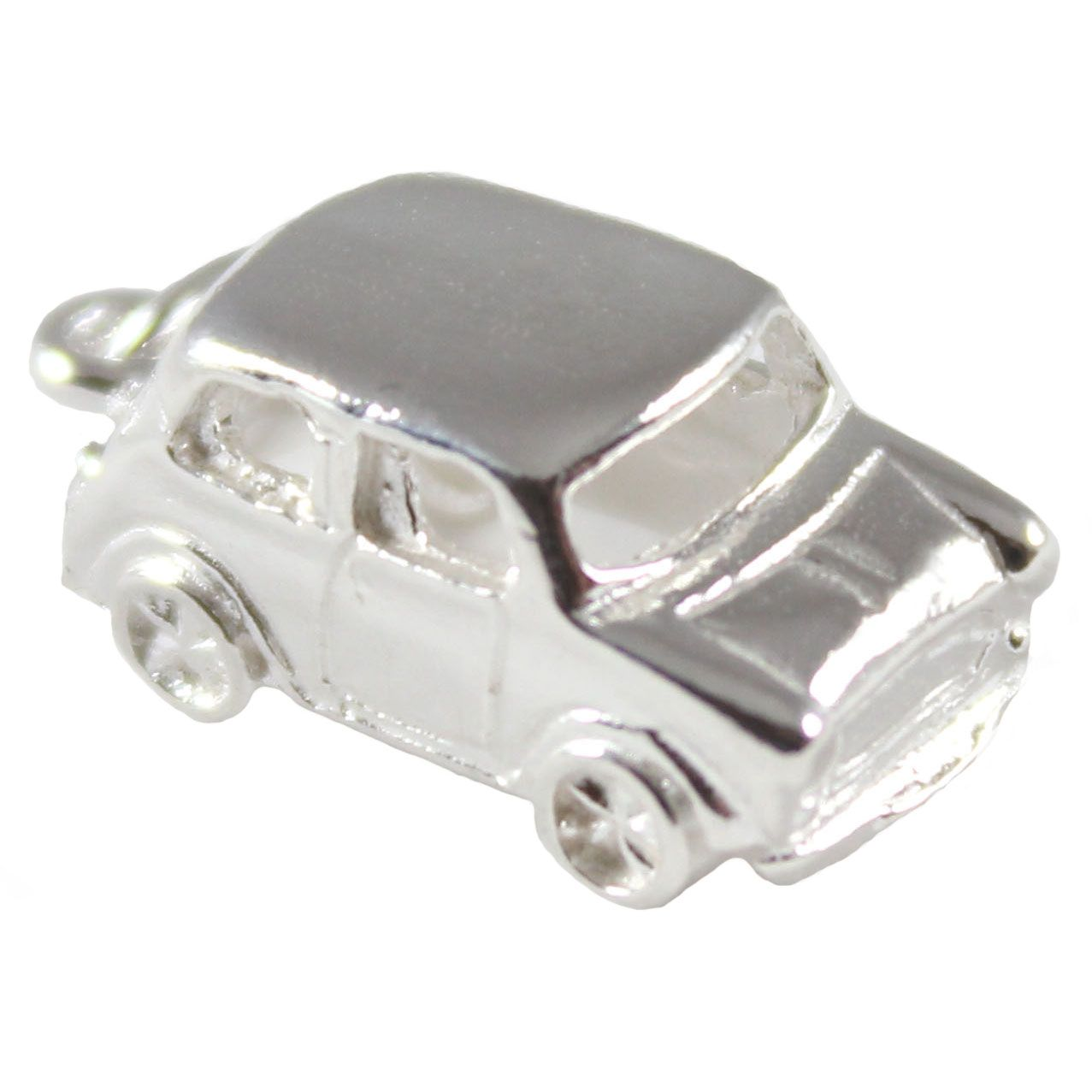 Mini Car Sterling Silver Charm