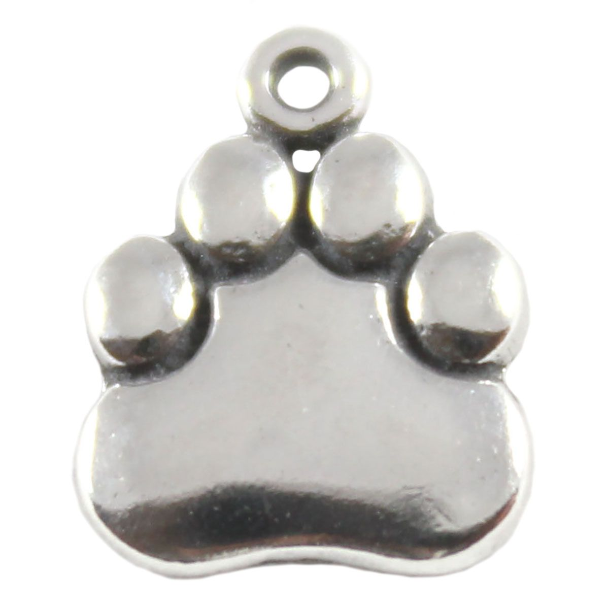 Paw Sterling Silver Charm