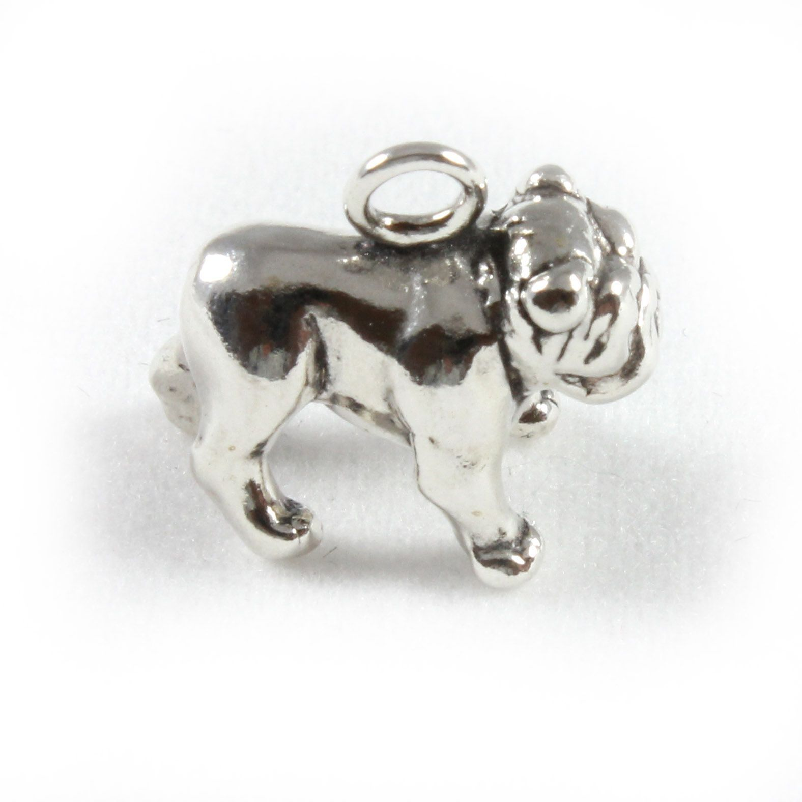 pandora bulldog charm charm school uk gt sterling silver charms gt dogs gt bulldog 8063