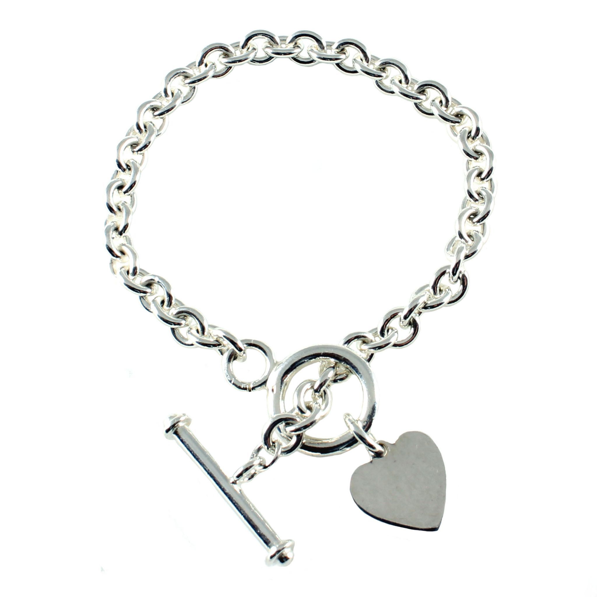 patron bracelet the bangles saint bangle company sterling silver catholic charm