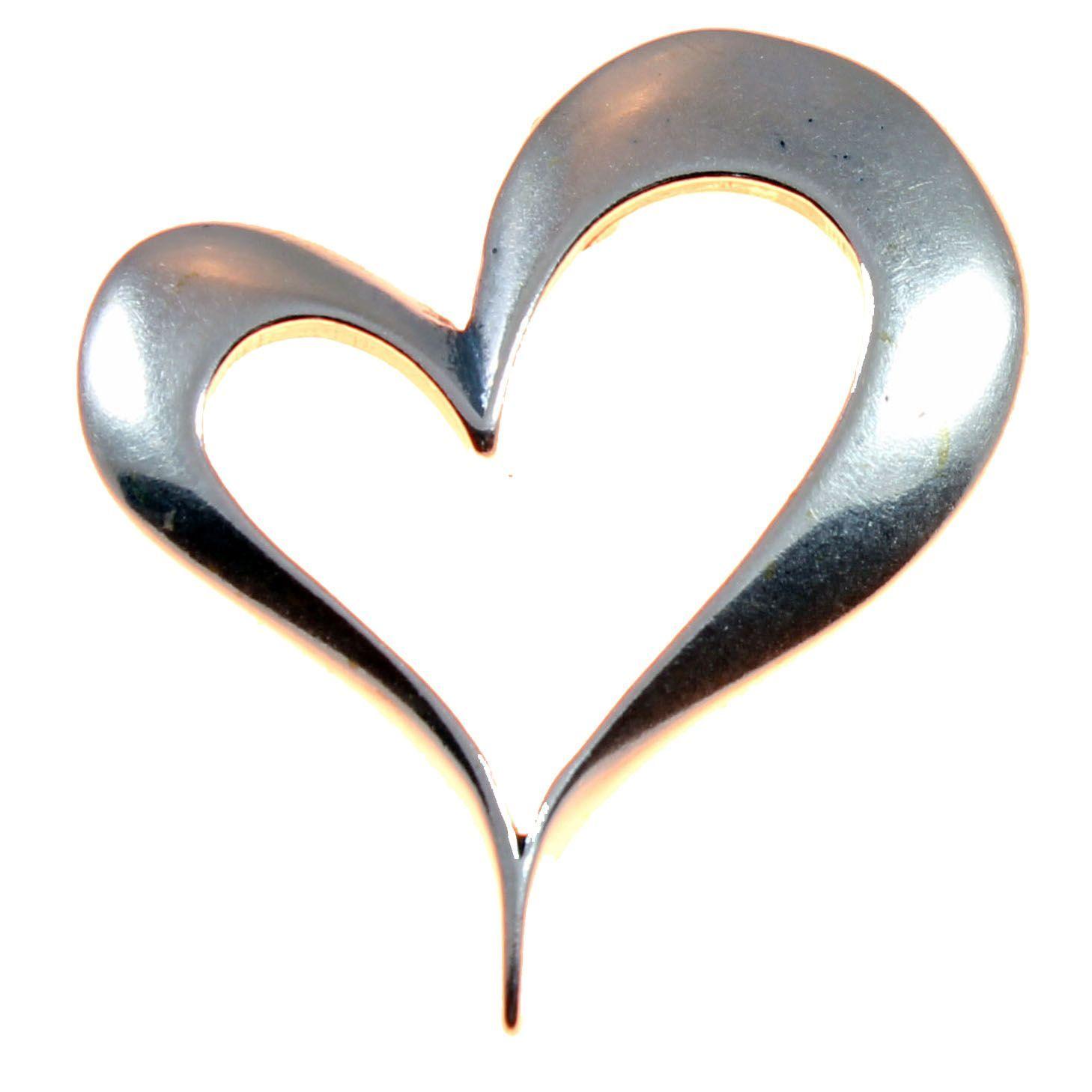 Charm school uk sterling silver pendants open heart pendant open heart sterling silver pendant buycottarizona Gallery