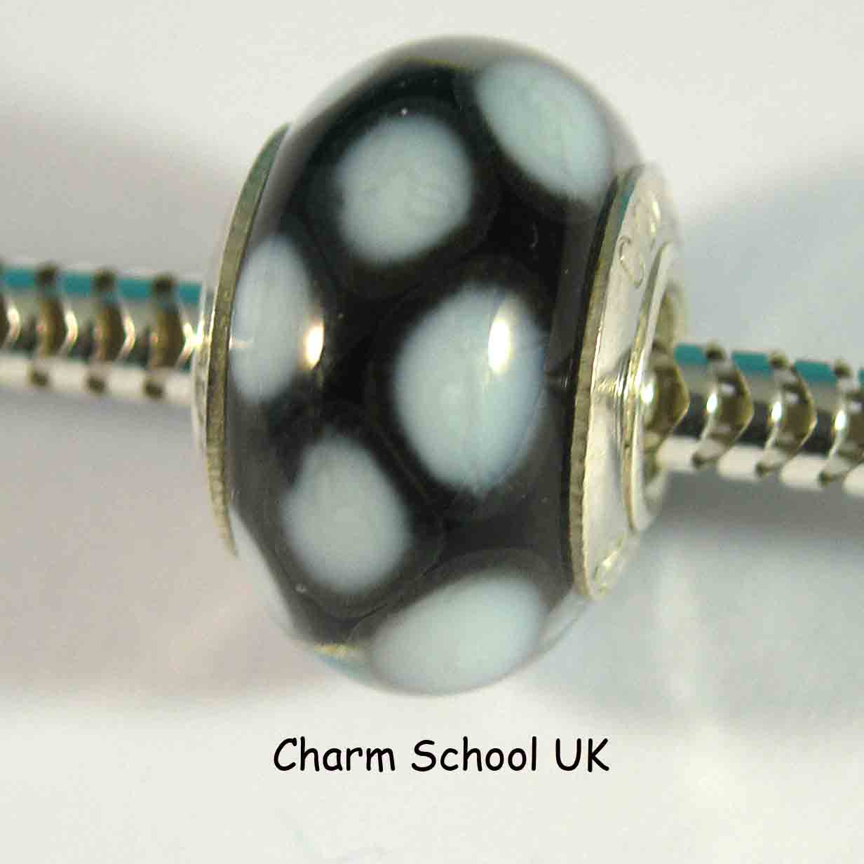 European Style Beads With Sterling Silver Core 8008