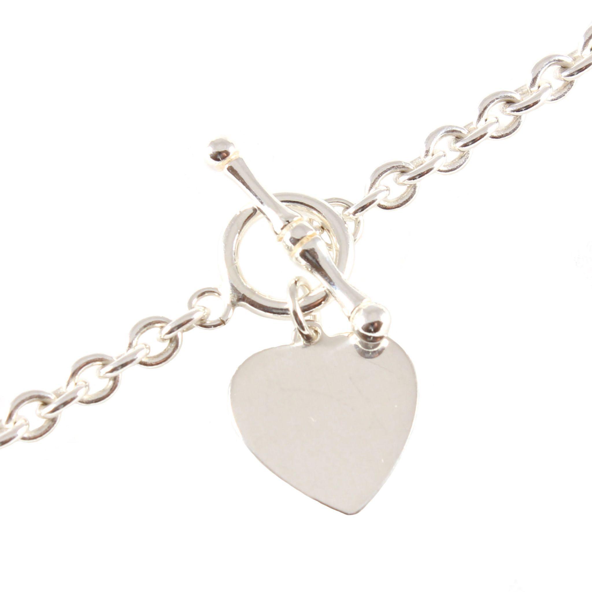 personalised sterling silver charm bracelet best