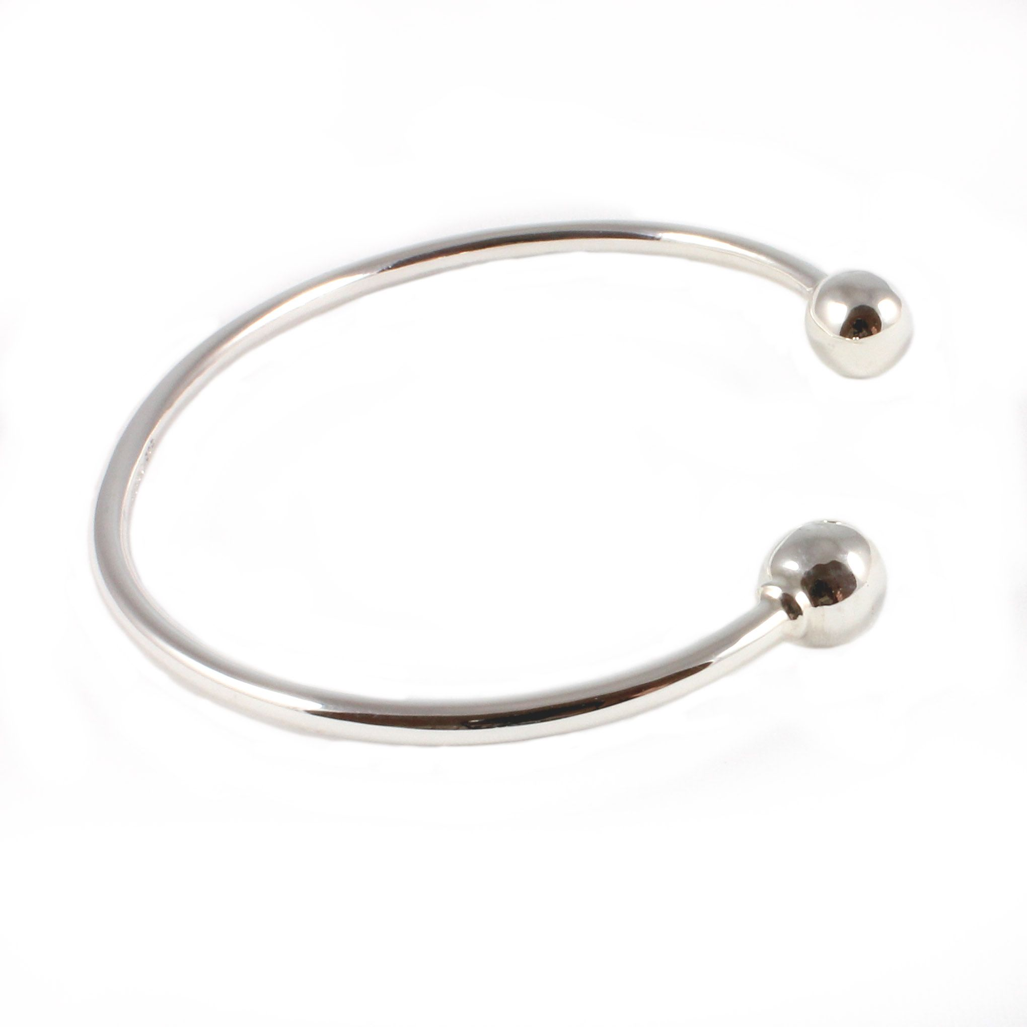 Charm School UK > Silver Jewellery > Sterling Silver Bangles ...