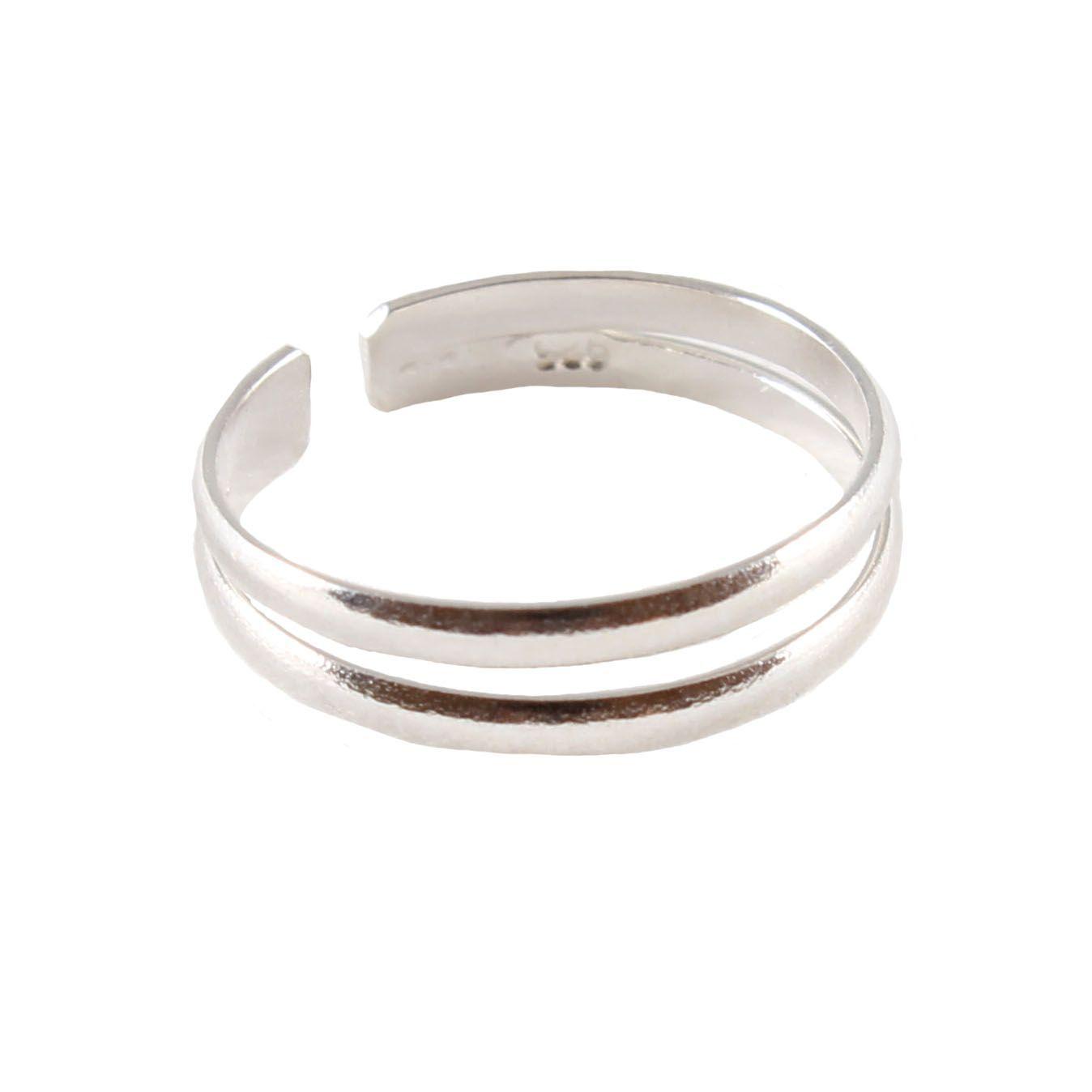 charm school uk gt sterling silver toe rings gt split