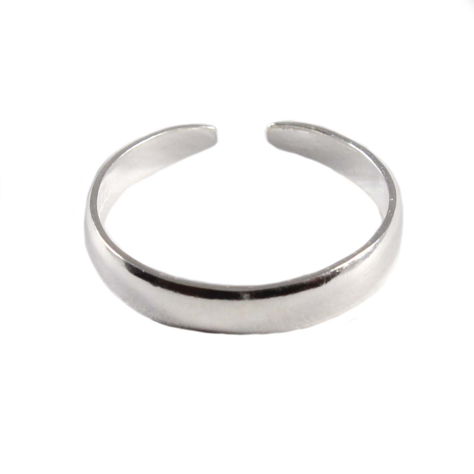 a ring silver circle rings gold plain product