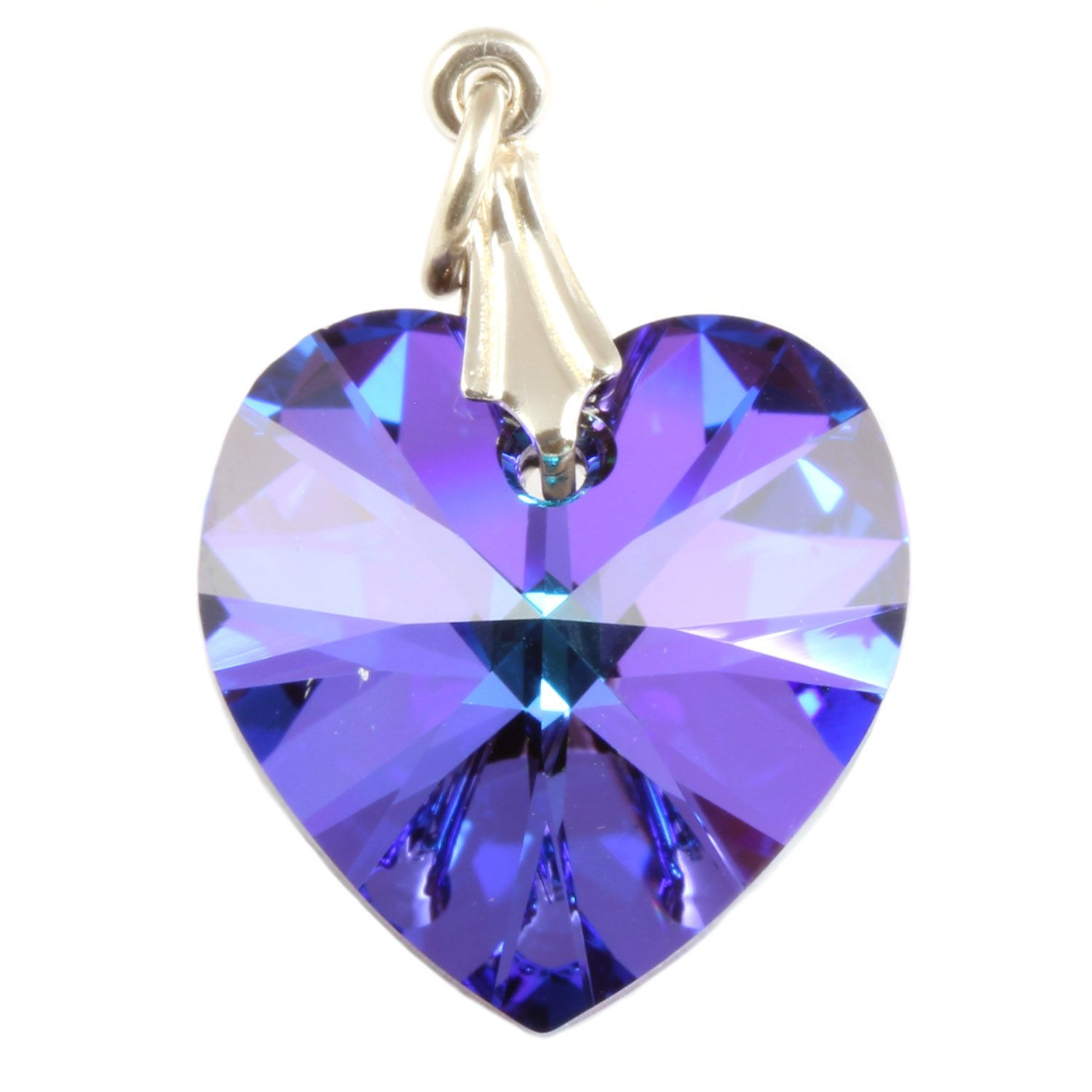 temperament clavicle aurora item blue necklace female silver austria style pendant quiet sugar simple crystal index pic